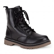 Marco Republic Navigator Womens Military Combat Boots – (Black) – 8.5