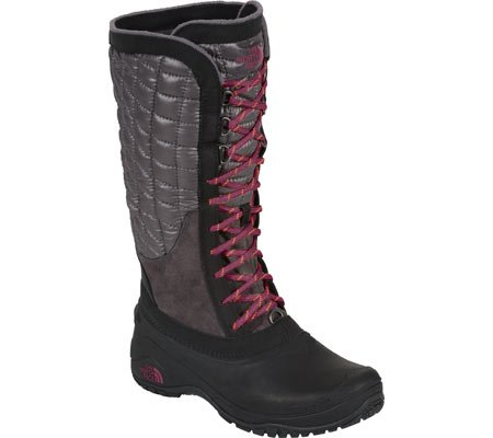 The North Face Thermoball Utility Boot Womens Plum Kitten Grey/Radiance Purple 9