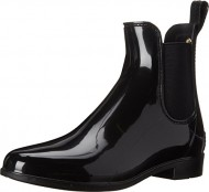 Sam Edelman Women's Tinsley Rain Boot, Black, 8 M US