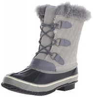 Northside Women's Mont Blanc Cold Weather Boot, Light Grey, 10 M US