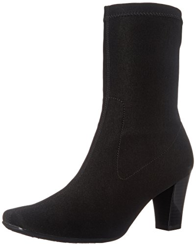 Aerosoles Women's Geneva Boot,Black Fabric,8.5 M US