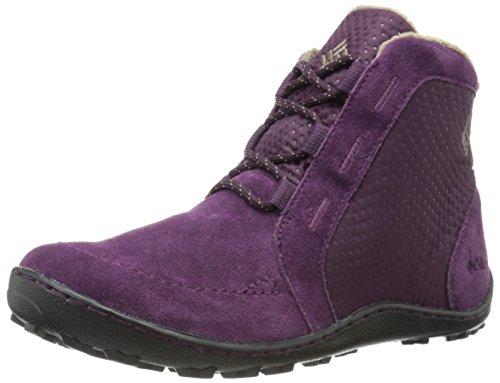 Columbia Women's Minx Nocca Lace Nylon Cold Weather Boot, Purple Dahlia, 10 M US