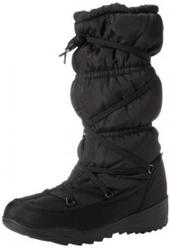Kamik Women's Luxembourg Snow Boot,Black,7 M US