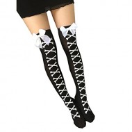 Binmer(TM)Women Long Over Knee Thigh-High Stocking Boot Socks Warmer