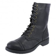 Brash Women's Black DeeJay Lace-Up Boot 11 M US
