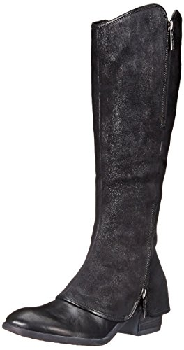 Donald J Pliner Women's Devi4 Riding Boot, Black, 7 M US