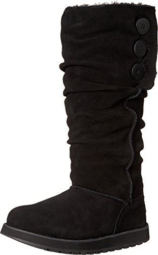 Skechers Women's Keepsakes-Brrrr Boot,Black,9 M US