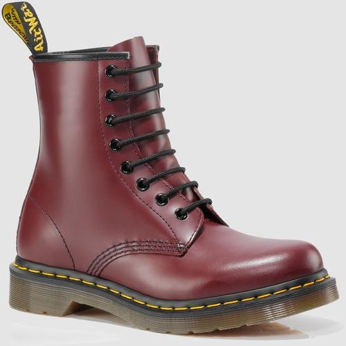 Dr. Martens 1460 Originals Eight-Eye Lace-Up Boot,Cherry Red Rouge Smooth,7 UK / 8 M US Mens / 9 M US Womens