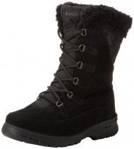Kamik Women's Boston Snow Boot,Black,6 M US