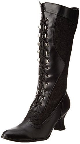 Ellie Shoes Women's 253 Rebecca Slouch Boot, Black, 8 M US