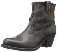FRYE Women's Leslie Artisan Short Boot, Charcoal, 10 M US