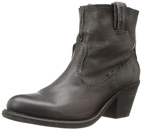 FRYE Women's Leslie Artisan Short Boot, Charcoal, 10 M US