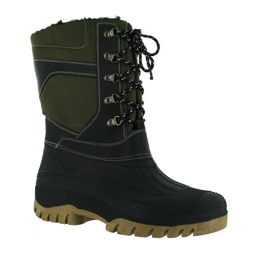 FREEZE TEXTILE/WEATHER WATERPROOF WELLINGTON / Womens Boots / Mens Boots (11 US) (Green)