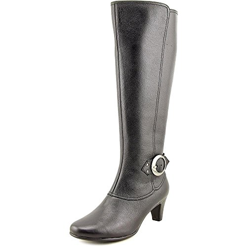Aerosoles Incredible Women's Boots, Black Leather, Size 7