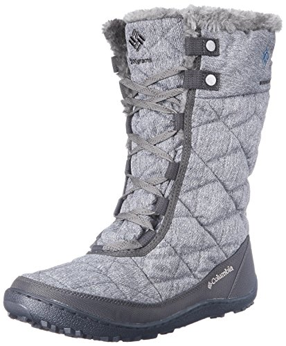 Columbia Women's Minx Mid II OH Twill Cold Weather Boot, Quarry/Jewel, 10 M US