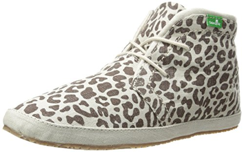 Sanuk Women's Savvy Anna Chukka Boot,Cheetah,8 M US