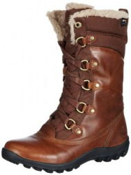 Timberland Women's MT Hope Mid L/F WP Boot,Tobacco,8 M US