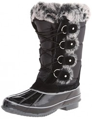 Khombu Women's Bryce Snow Boot,Black,8 M US