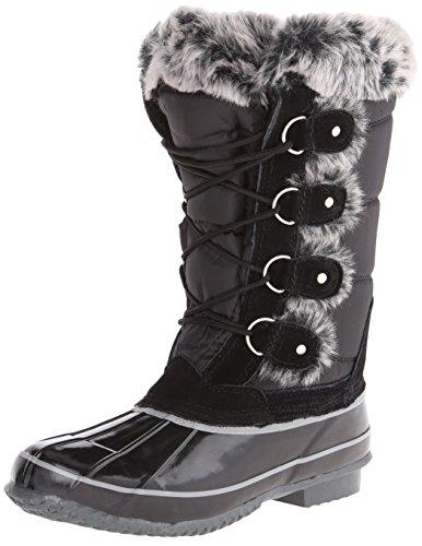 Khombu Women's Bryce Snow Boot,Black,8 M US