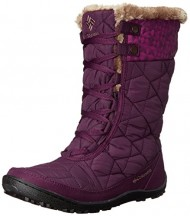 Columbia Women's Minx Mid II Print OH SNO Cold Weather Boot, Purple Dahlia, 9 M US
