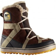 Sorel Women's Glacy Explorer Shortie Cold Weather Boot, Tobacco, 6 M US
