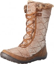 Columbia Women's Minx Mid II Resort Nutme Cold Weather Boot, Nutmeg/Penny, 9 M US