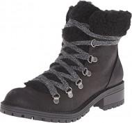 Madden Girl Women's Bunt Boot, Black/Multi, 7.5 M US